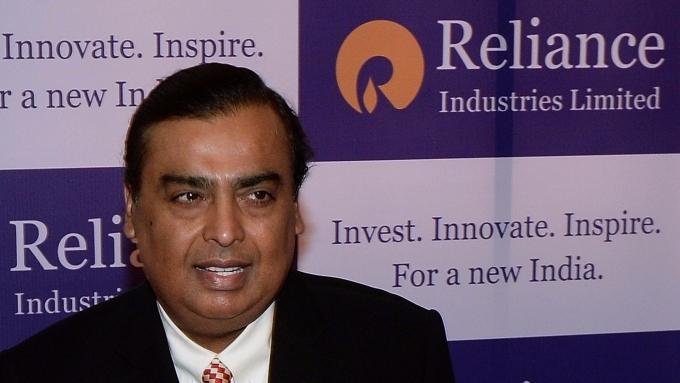 加入Forbes亞洲首富爭霸戰的是他,Mukesh Ambani 。(圖:AFP)