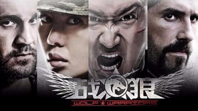 《戰狼》系列電影,票房屢創新高。 (圖:AFP)