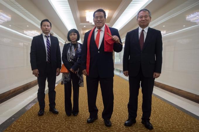 日本「摔角」議員