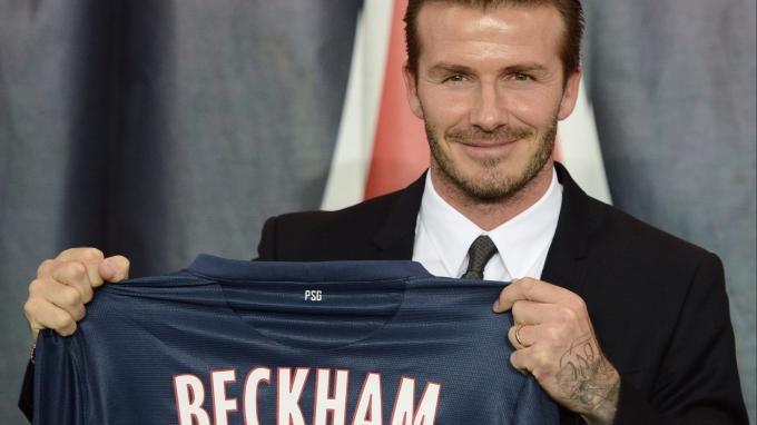 貝克漢 David Beckham / 圖:afp
