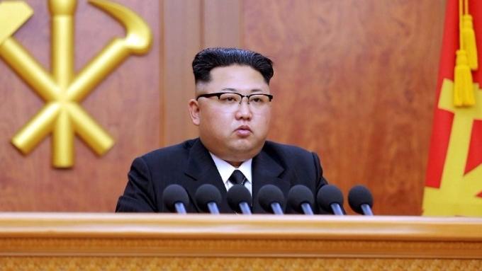 北韓領導人金正恩。(AFP)