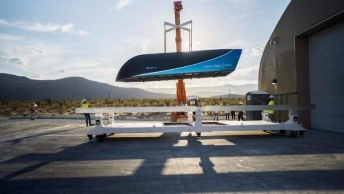 Hyperloop One選出十條路線      (圖取自Hyperloop One)