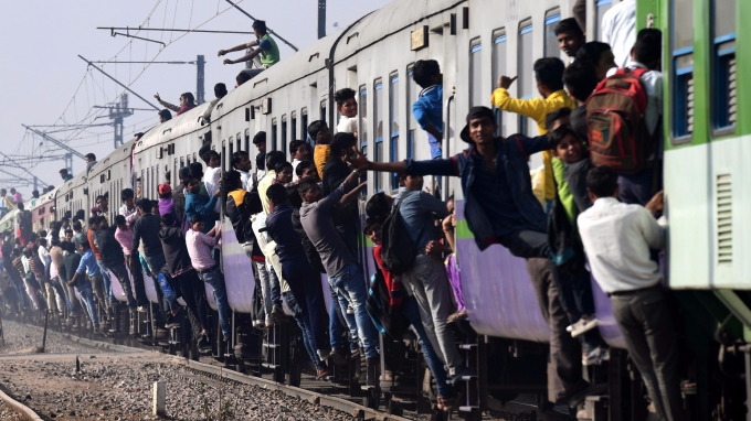 印度鐵路網老舊危險(圖:AFP)