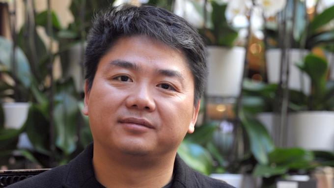 京東CEO劉強東攜手泰國零售商,拓展東南亞市場。(圖:AFP)