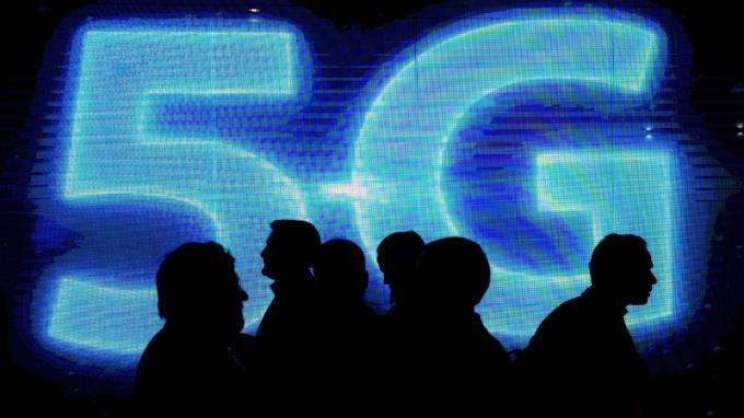 5G發展受矚目(圖:AFP)