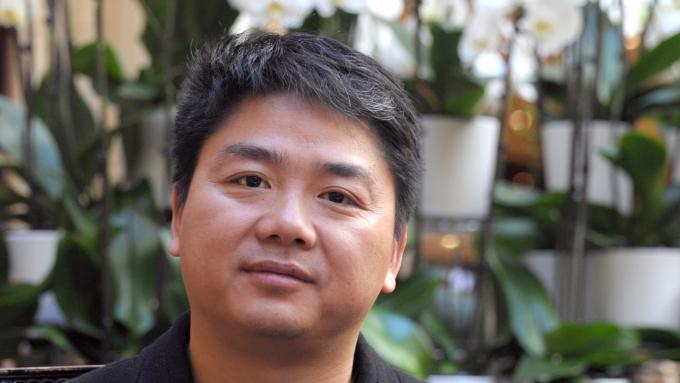 京東集團CEO劉強東。(圖:AFP)