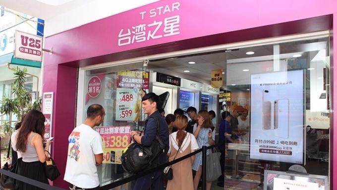 台灣之星i8預購業績較i7同期增1倍。(圖:台灣之星提供)