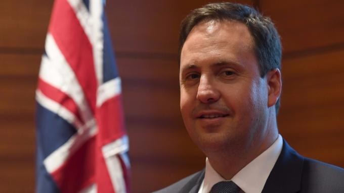 澳洲正尋求美國以外的貿易夥伴,圖為澳洲貿易和投資部長Steven Ciobo (圖:AFP)