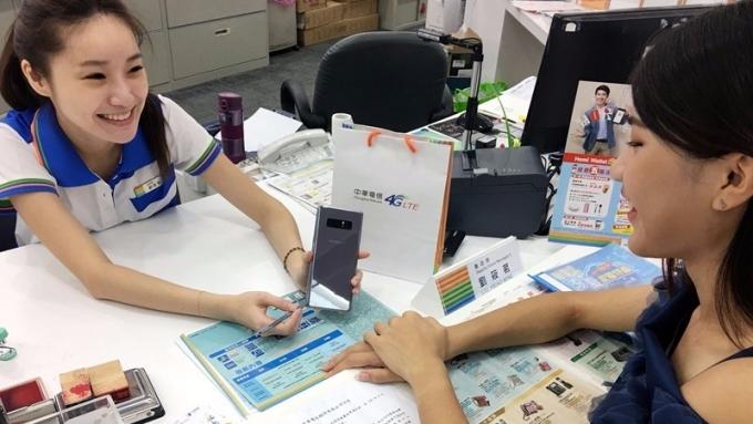 中華電開賣三星Note8估上市首周銷量可破萬。(圖:中華電提供)