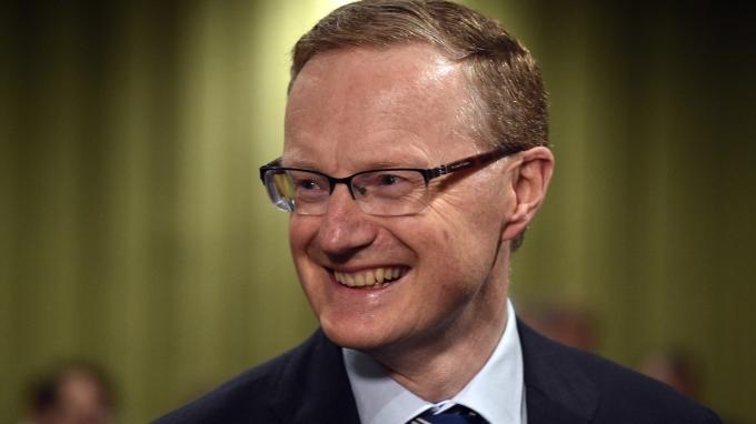 澳洲央行總裁 Philip Lowe 。(AFP)