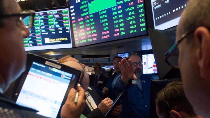 圖:AFP  美國指數期貨盤前小幅下滑