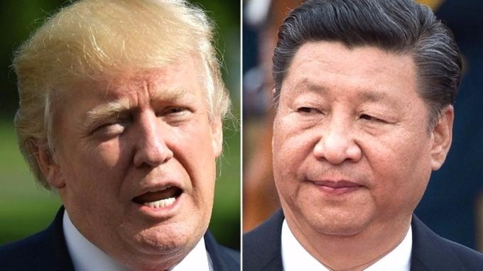 川普宣佈北韓新制裁,感謝習近平禁陸銀與北韓往來。 (圖:AFP)