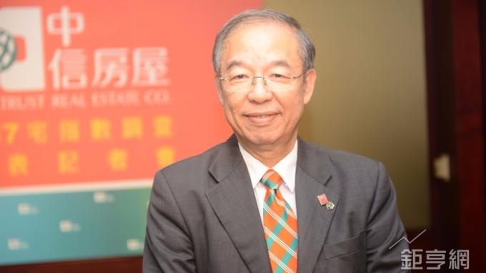 中信房屋副總經理劉天仁。(鉅亨網記者張欽發攝)