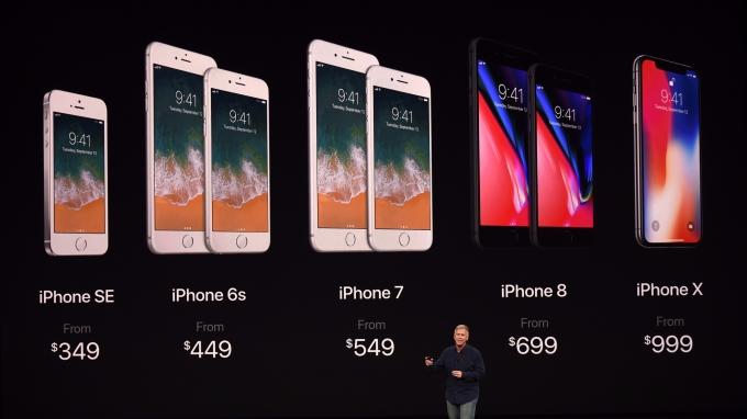蘋果 iPhone X供貨將面臨挑戰(圖:AFP)