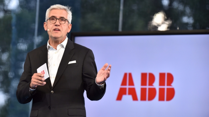 ABB CEO Ulrich Spiesshofer 。(圖:AFP)