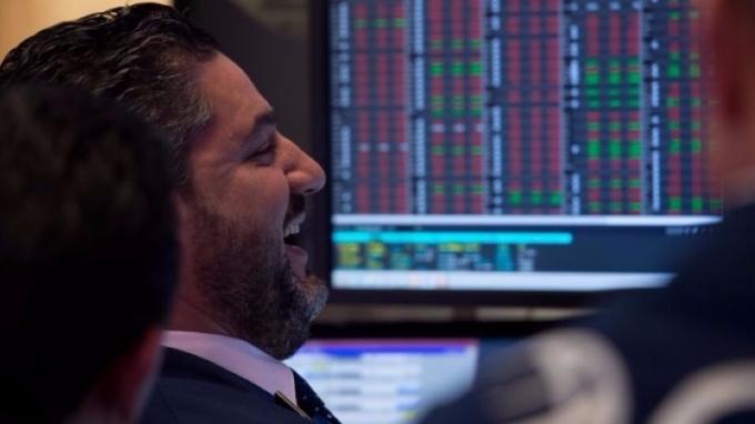 第四季是股市歡樂時光 (圖:AFP)