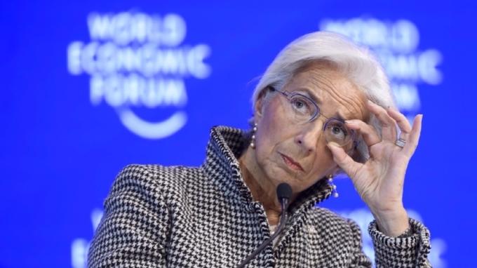 IMF總裁拉加德樂觀看待虛擬貨幣的未來。(圖:AFP)