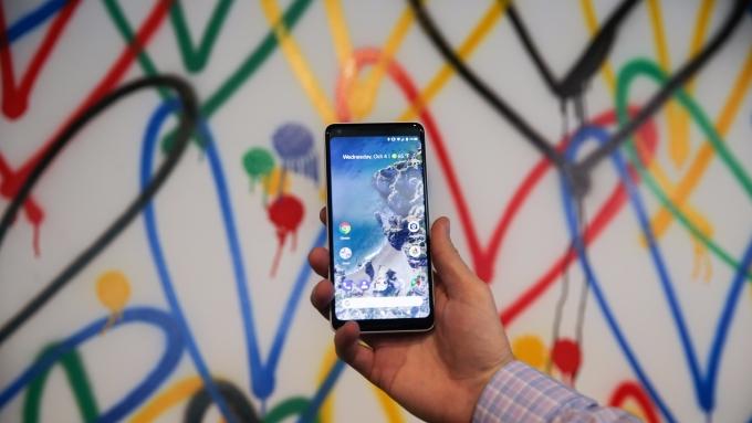 Google Pixel 2 XL。(AFP)