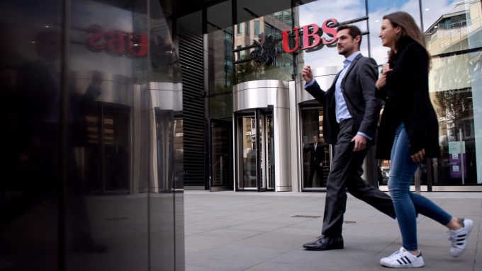UBS / 圖:afp