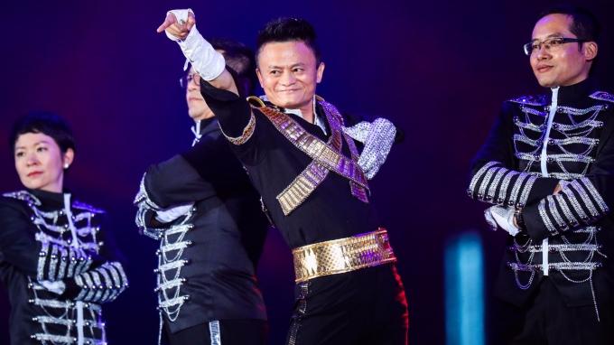 阿里巴巴執行長馬雲。(AFP)