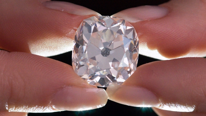 鑽石成為投資人眼中的「新黃金」。(AFP)