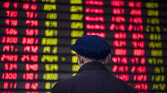 黃金周後,滬深兩市出現個股股東密集減持現象。 (圖:AFP)