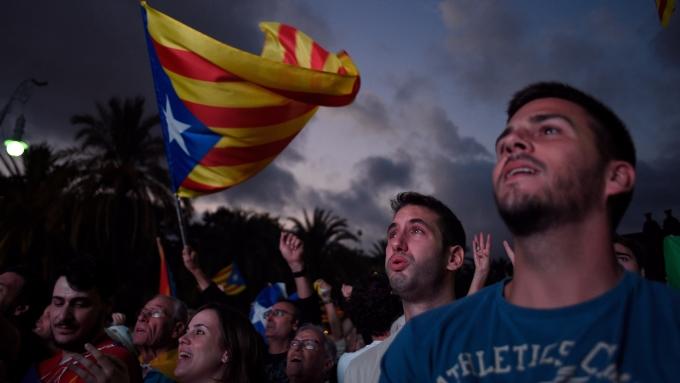 輿論建議化解加泰隆尼亞獨立危機,應採取「巴斯克模式」。 (圖:AFP)
