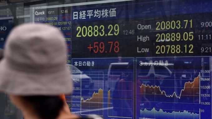 日股近日走高(圖:AFP)
