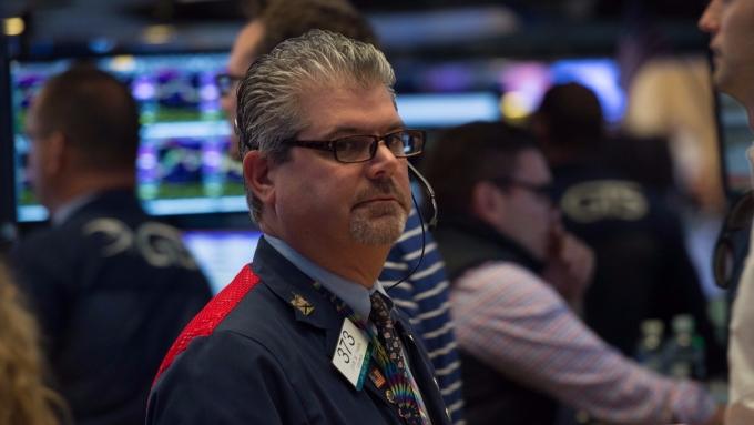 圖:AFP  美國股市中場狹幅整理