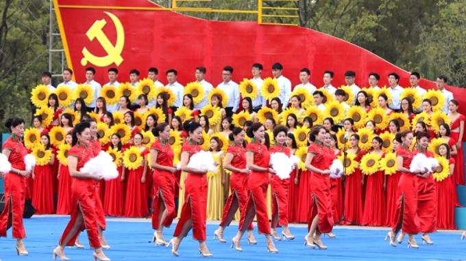 中共十九大周三登場,大會正如火如荼展開彩排。 (圖:AFP)