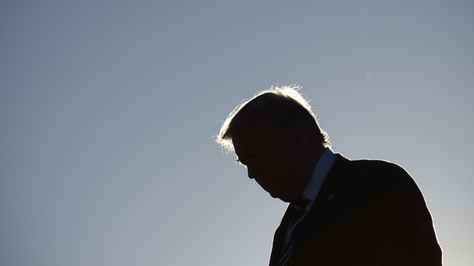 美國總統川普。(AFP)