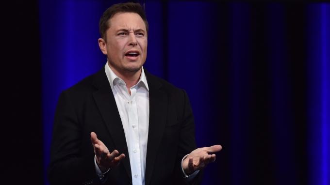 特斯拉執行長 Elon Musk 。(AFP)