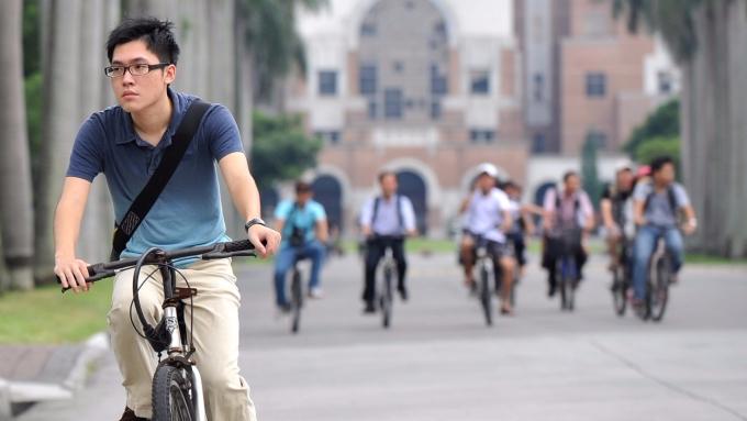 世界大學排名,台大名次再次滑落。(AFP)