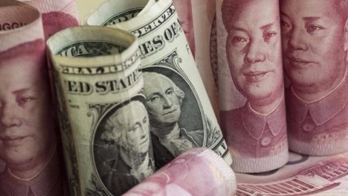 美財政部讚揚中國在外匯市場上的作為      (圖:AFP)