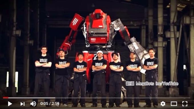 《鋼鐵擂台》真實上演 美日機械人大戰首播 10萬人次收看