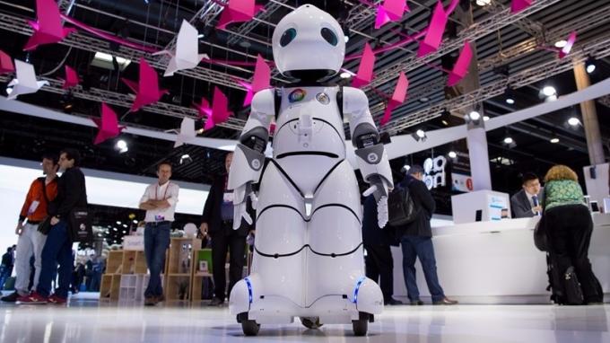 未來10年,AI將推推全球GDP增長12%左右。 (圖:AFP)