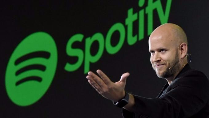 Spotify執行長Daniel EK。(圖:AFP)
