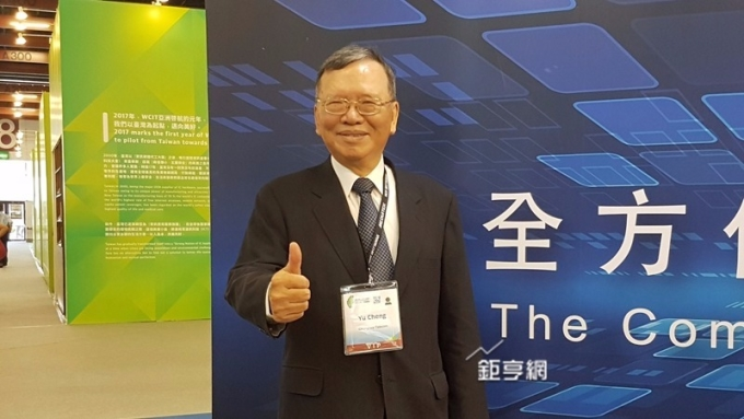 中華電資安子公司最快年底營運。圖為董事長鄭優。(鉅亨網資料照)