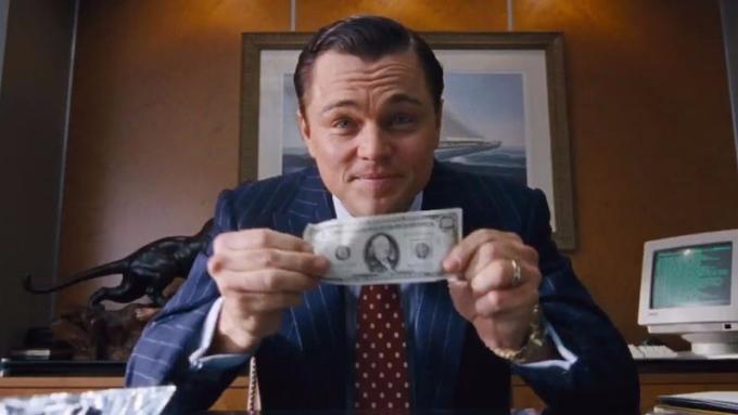 《華爾街之狼》電影原型經理人表示,ICO是史上最大騙局。圖為《華爾街之狼》劇照。(圖取材自網路)