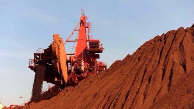 法國巴黎銀行發布對鐵礦石的報告,認為有上漲空間。(圖:AFP)