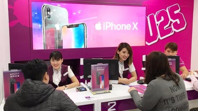 iPhone X明(27)日將開放預購。(圖:台灣之星提供)