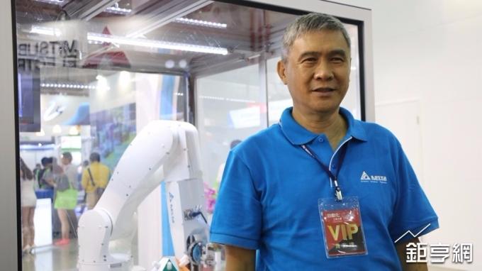 〈台達電法說〉海英俊:自動化是未來成長支柱 明年成長目標10%