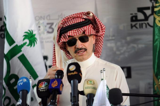 遭逮捕沙國王子Alwaleed