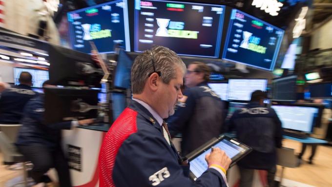 圖:AFP  盤前交易中,美國指數期貨進行整理