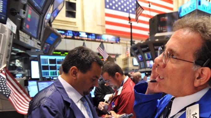 圖:AFP 美國股市週二收盤漲跌互見