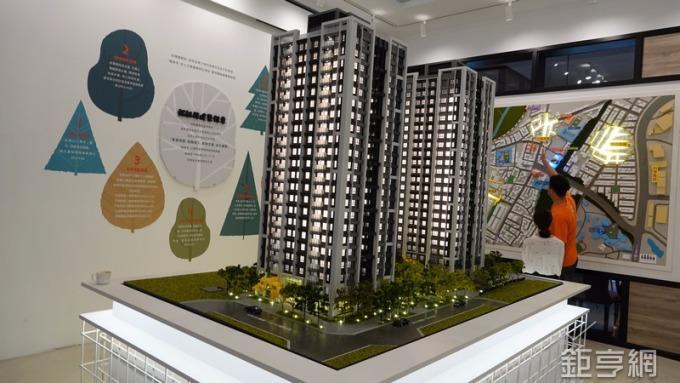 國建「國泰禾」建案總銷達40.5億元。(鉅亨網記者張欽發發攝)