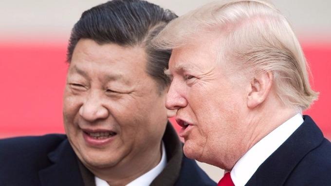 川普訪華,中國以「國事訪問+」的高格調接待。 (圖:AFP)