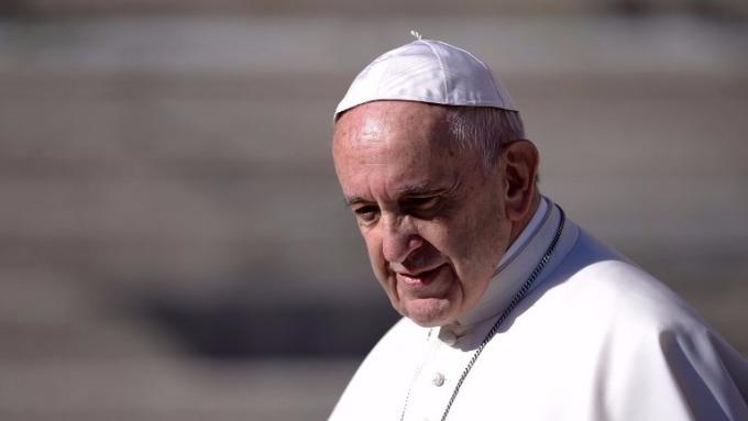 教宗方濟各Pope Francis (圖:AFP)