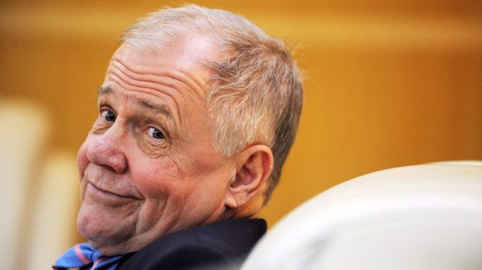 商品大王,華爾街金融大鱷Jim Rogers 。(圖:AFP)