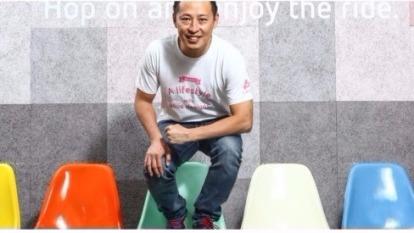 「我們的經驗是,打海外市場要先把品牌建立起來。」Pinkoi 共同創辦人顏君庭說。(數位時王)